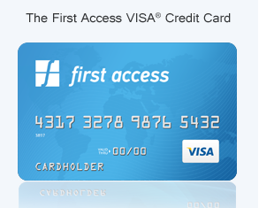 Pre Approved Access First Access Credit Card Offer (Visa)