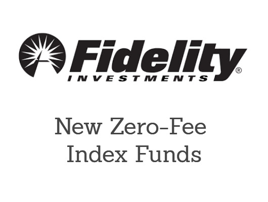 Zero fee index funds