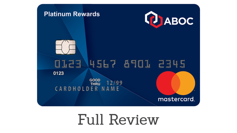 ABOC Platinum Rewards Card review