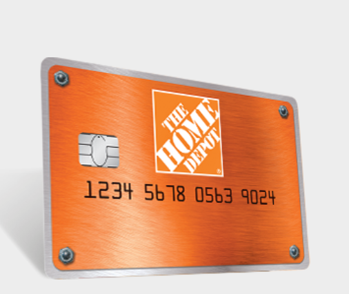 homedepot.com/applynow with reference number - Card Offers